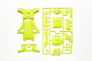 Telaio FM-A giallo fluorescente Mini4WD
