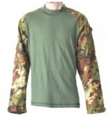 COMBAT SHIRT VEGETATA    LARGE