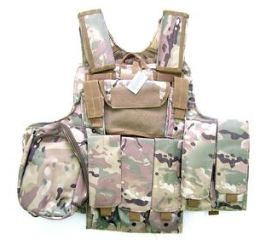 GIUBBETTO TATTICO     MULTICAM