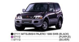 MITSUBISHI PAJERO SWB     1/43
