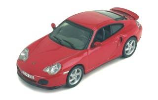 PORSCHE 911 TURBO 2000 red1/43