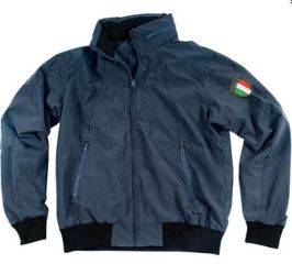 GIACCA BOMBER BLU        SMALL