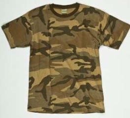 T-SHIRT WOODLAND NEW CAMO   XL