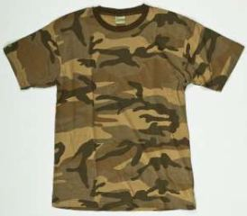 T-SHIRT WOODLAND NEW CAMO  XXL