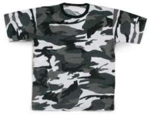 T-SHIRT WOODLAND URBAN     XXL