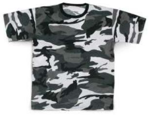 T-SHIRT WOODLAND URBAN    XXXL