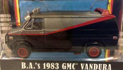 FURGONE A-TEAM SERIE TV 1/64 1983-1987 GMC VANDURA