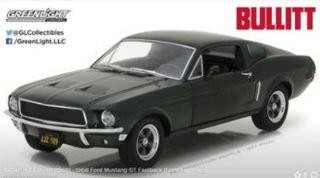 Ford Mustang GT Fastback 1968 1/24 Steve McQueen Film Bullit