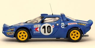LANCIA STRATOS HF RALLY   1/18 n10 MONTE CARLO 1978