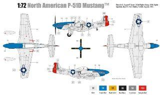 NORTH AMERICAN P51D MUSTANG 1/
