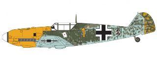 MESSERSCHMITT Bf109E-4/E-1 1/48