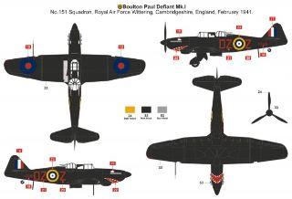 A_Boulton Paul Defiant NF.1   1/48