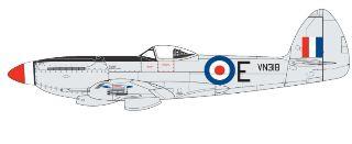 SPITFIRE F.Mk.22/24       1/48 SUPERMARINE