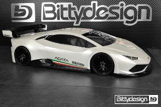 Carrozzeria GT Agata 190mm 1/10 Lamborghini Huracàn