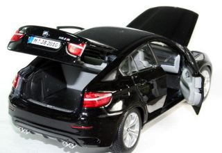 BMW X6M NERO METAL        1/18