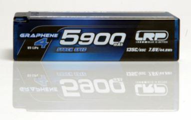 LiPo Shorty 7,6v 5900mAh 65/135c Graphene-4 HV Stock Spec