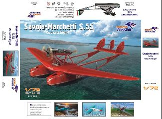 Dora Wings Savoia Marchetti S.55 1/72 record flight