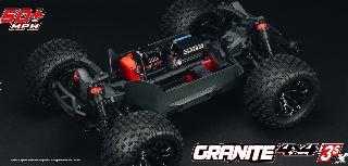 Granite 4X4 3S BLX Orange/Black 1/10 4WD monster truck