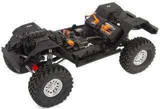 SCX10 III Jeep JL Wrangler with Portals 4WD Kit 1/10