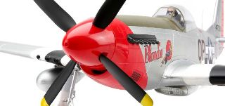P51D MUSTANG 1,2mt  BNF BASIC