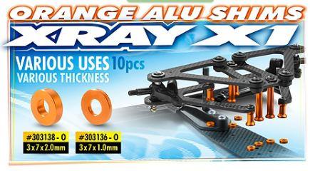 RASAMENTI 3x7x1,0mm ORANGE  X1