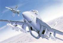 F A 18E SUPER HORNET      1/72