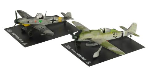 BF109 F-4 and FW 190 D9 1/72  War Thunder