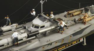 Vosper MTB 74 With Crew 1/35