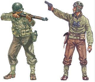 FANTERIA AMERICANA WWII   1/72