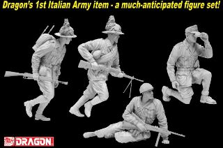 DRAGON FANTERIA ITALIANA  1/35