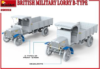 Furgone militare British Military Lorry B-Type 1/35