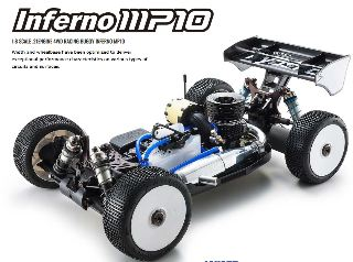 INFERNO MP10 1/8 GP 4WD BUGGY  IN KIT