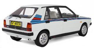 LANCIA DELTA 1600 HF MARTINI TURBO IE S.S. R86 BIANCA 1986