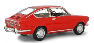 Fiat 850 Sport Coupè Rossa 1968 1/18