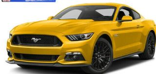 FORD MUSTANG 2015 ROSSA   1/18
