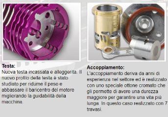 Motore Bonito 21-7 XLB/A buggy 7 travasi 3,5cc