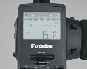 RADIO FUTABA A VOLANTINO 3PV 2,4Ghz CON RICEVENTE R203GF