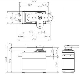 SERVO S9373SV FULL METAL HV 24,6kg 0,06s/60 INGRESSO 6/7,4