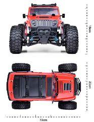 Venturer 1/14 4WD 2,4GHz Rosso