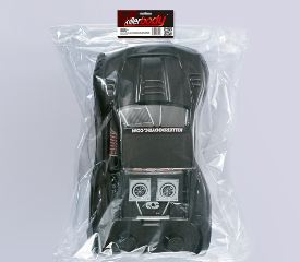 CARROZZERIA SCT MONSTER CARBON 1/10 VERNICIATA SHORT COURSE