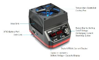 Battery Discharger and Analyzer 35A 250W