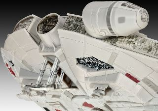 MILLENIUM FALCON    375mm 1/72
