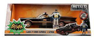 Batman Batmobile Classic 1966 1/24 con personaggio Jada Toys