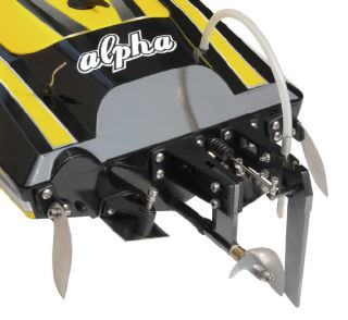 SCAFO ALPHA GIALLO      1060mm 80km/h BRUSHLESS CON RADIO