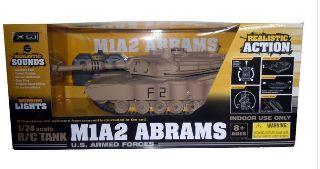 ABRAMS M1A2 US RC 27MHz   1/24