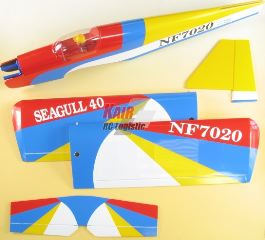 40 LOW WING SPORT ARF   1438mm