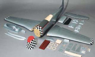 GIANT P51 MUSTANG ARF   2140mm