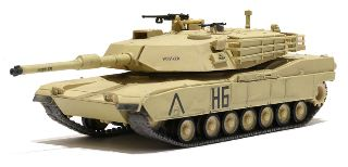 US MBT M1A1 ABRAMS DESERT 1/72