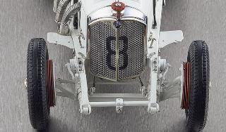 MERCEDES BENZ SSLK 1931   1/18 BIANCA n8 GP DEUTSCHLAND