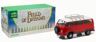 VOLKSWAGEN T2 1973 ROSSO  1/18 FIELD OF DREAMS 1989